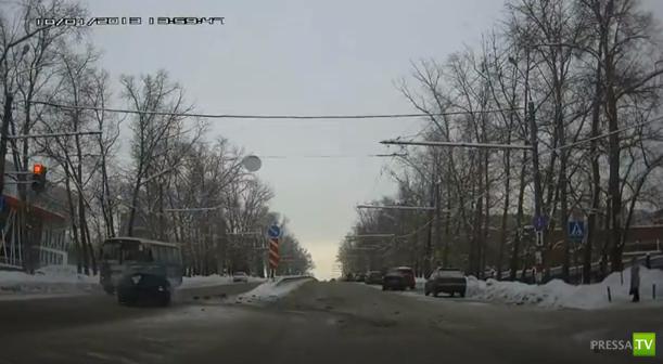 Олень летел на красный... Столкновение на перекрестке в Нижнем Новгороде