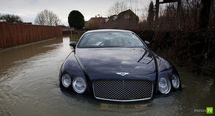 Грустная история одного Bentley (9 фото)
