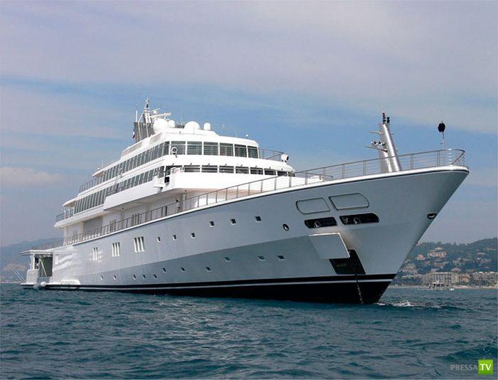 Яхты самые шикарные в мире (10 фото)
