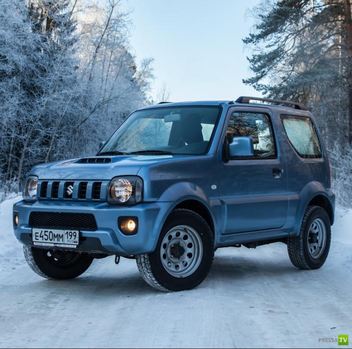 Обновленный Suzuki Jimny (8 фото)