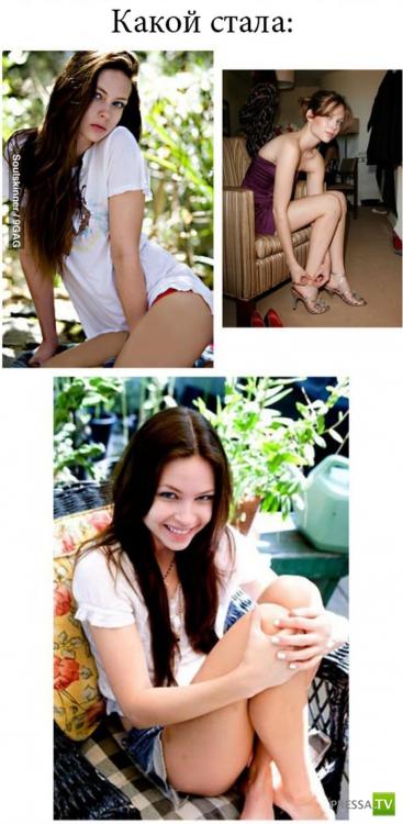 """Дэйви Чейз - страшная девочка из фильма """"Звонок"""", совсем нестрашная (3 фото)"""
