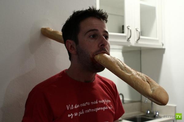 Новая забава в интернете - багетинг (28 фото)