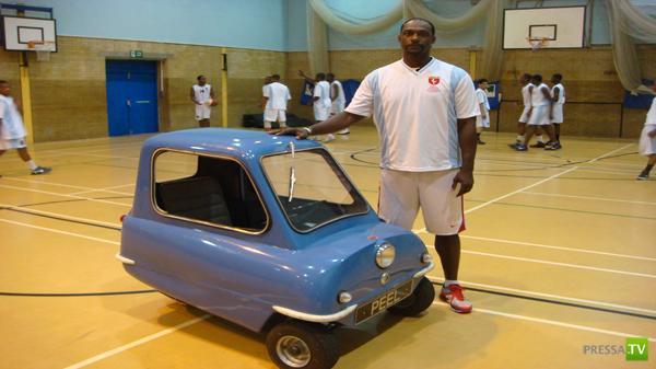 Самый маленький автомобиль в мире...