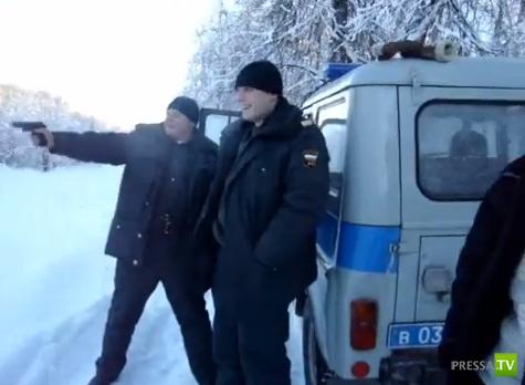 Пьяные полицейские на смене стреляют из ПМ... Аша, Челябинская область