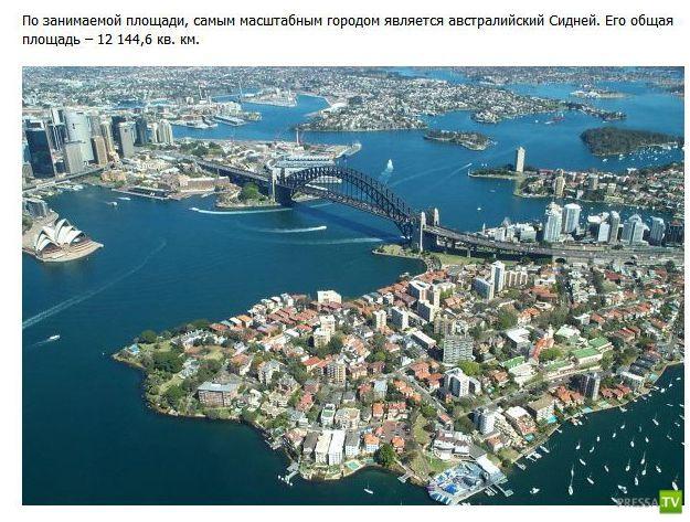 Самое интересное и необычное о разных городах мира (18 фото)