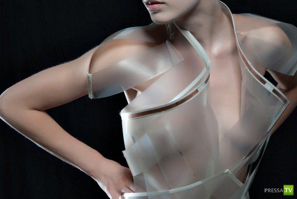 В Нидерландах сшили платье, которое исчезает от сексуального возбуждения... (10 фото)