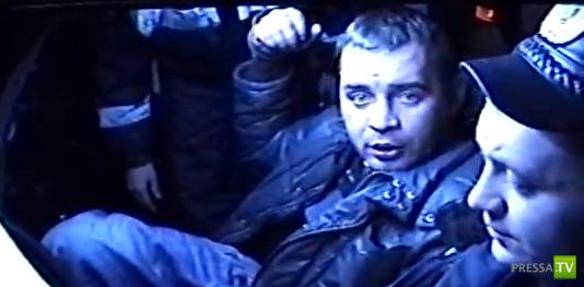 Пьяный луганский таксист и полиция...