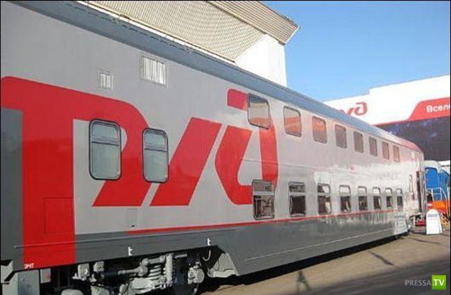 Новые двухэтажные вагоны выпустили в Мурманской области (4 фото)