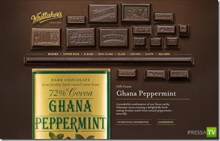 Самое интересное о шоколаде... (10 фото)