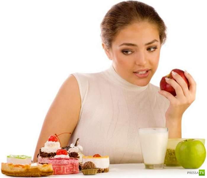 Мысли желудка о женской диете...