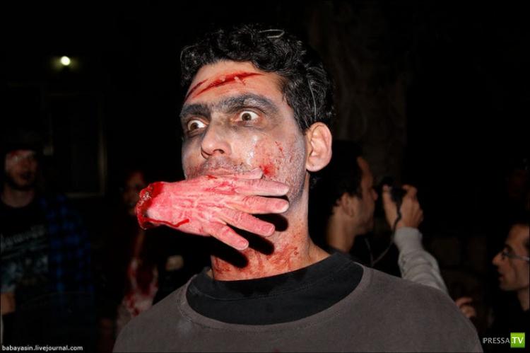 Zombie Walk - парад Зомби в Тель-Авиве (40 фото)