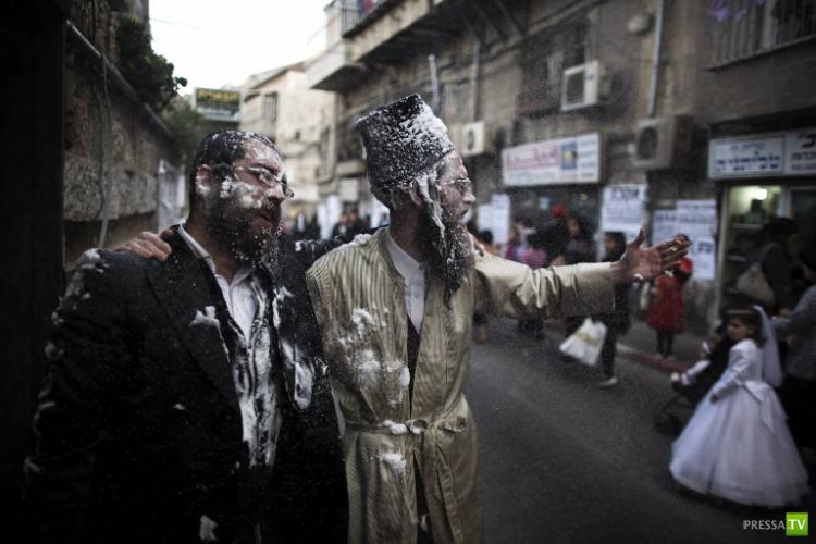 Праздник Пурим в Иерусалиме (9 фото)