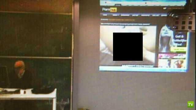 Бельгийский профессор университета случайно показал студентам порно ... (фото)