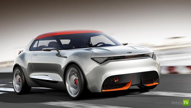 Kia  представит на автосалоне в Женеве новинку - концепт Provo (5 фото)