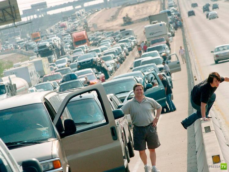 Особенности правил дорожного движения в США...