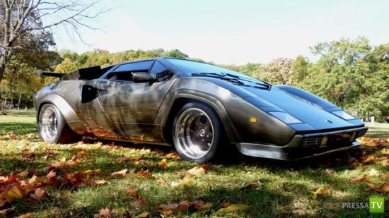 Кен Имхофф собрал с нуля Lamborghini в подвале собственного дома за 17 лет (6 фото)