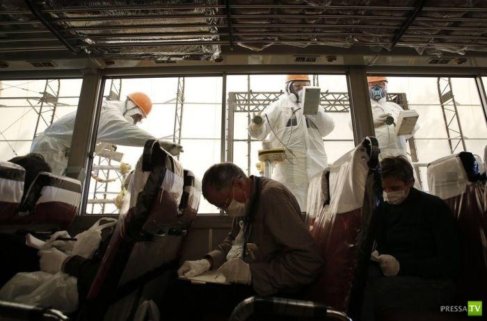Фукусима-1 через 2 года после катастрофы (28 фото)