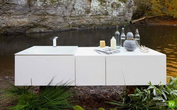 Ванна мечты - креативная ванная будущего (10 фото)