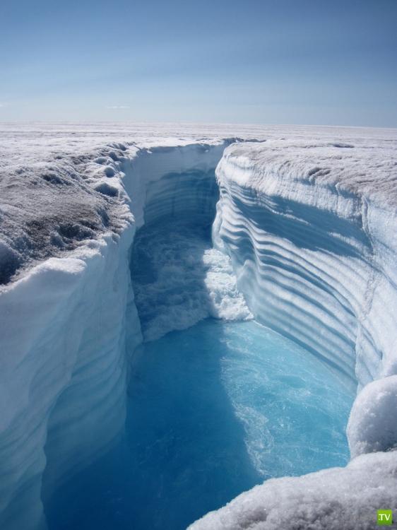 Необыкновенные красоты Ледяного каньона Гренландии (12 фото)