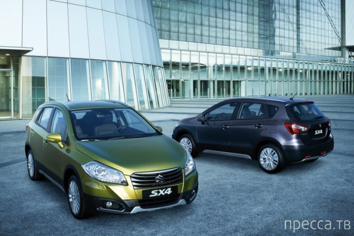 Новый Suzuki SX4 (9 фото)