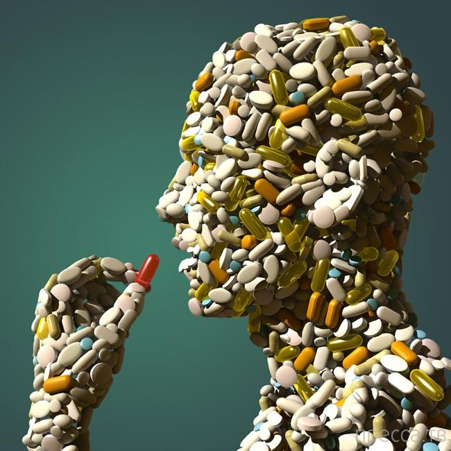 Странные и опасные побочные эффекты от лекарств (12 фото)