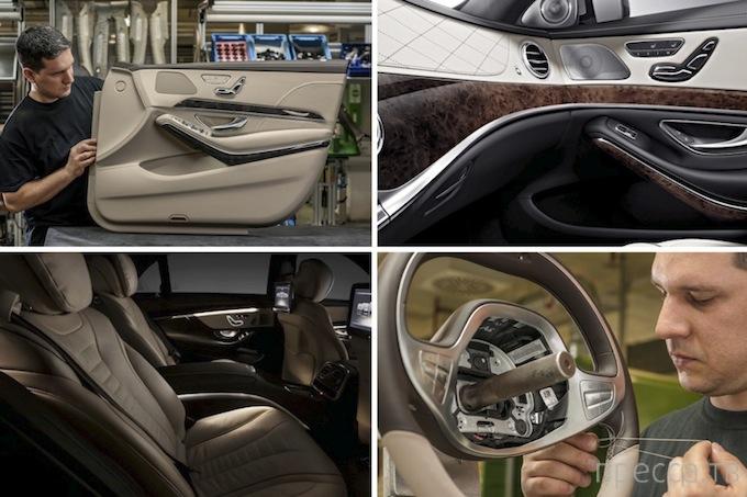 Интерьер Mercedes-Benz S-Class нового поколения (21 фото)