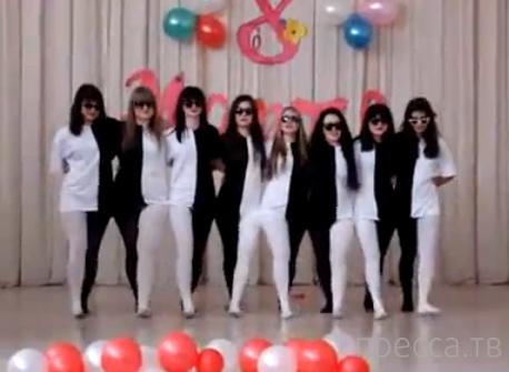 Танец, взрывающий мозг... (видео)