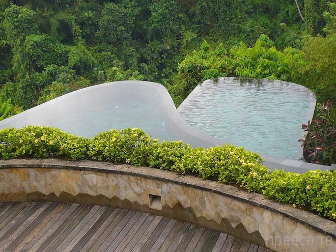 Бали. Висячие сады Убуд в Индонезии (10 фото)