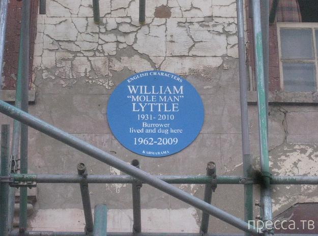 Уильям Литтл (William Lyttle) - человек-крот (7 фото)