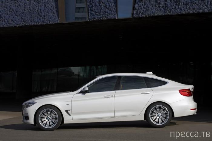 Компактный автомобиль BMW 3 Series GT (10 фото)