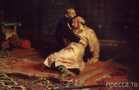 Иван Грозный не убивал своего сына !!!