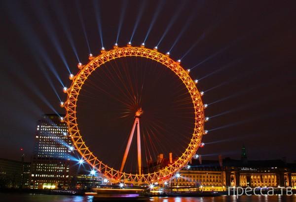 Самые известные в мире аттракционы - колесо обозрения (10 фото)