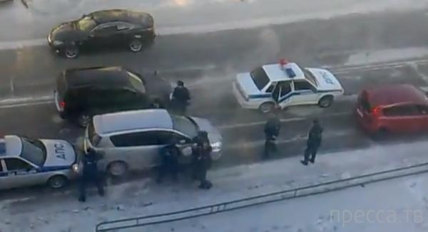 Покупатель угнал машину... Задержание в Белогорске