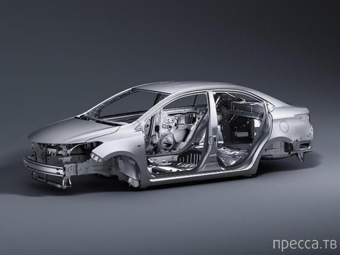 Третье поколение бюджетного седана Toyota Vios (11 фото)
