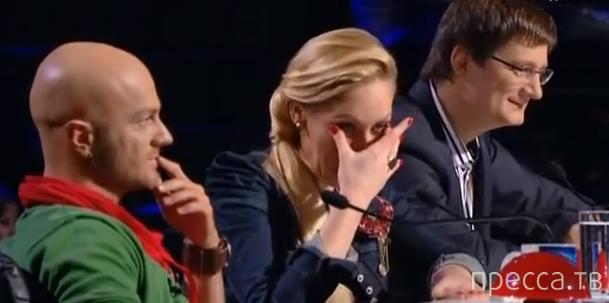 Украина мае талант. Подборка смешных выступлений. Милый баянчик! (видео)