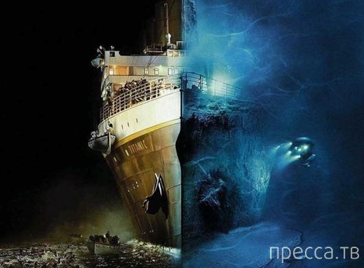 """Некоторые странные детали катастрофы """"Титаника""""..."""