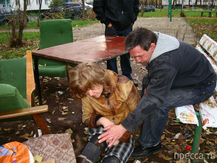 Бирюлево - один из самых неблагоприятных и криминальных районов Москвы (26 фото)