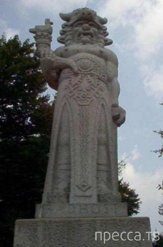 Таинственные Белые Боги древних цивилизаций...