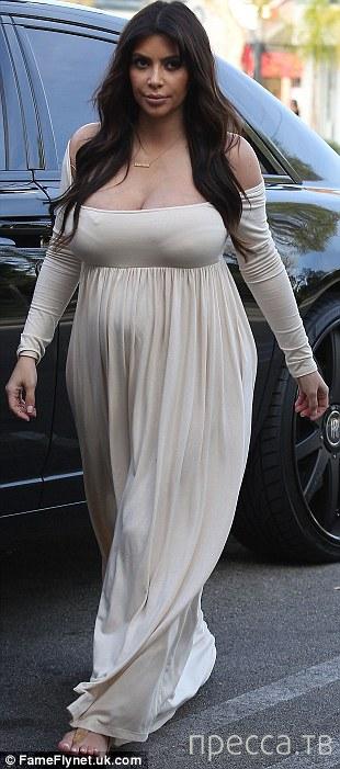 Ким Кардашиан уже СОВСЕМ не та... (10 фото)