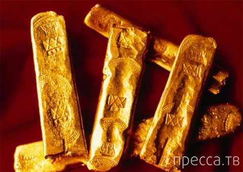 Дайверы обнаружили корабль с сокровищами, который затонул 400 лет назад в Мексиканском заливе (6 фото)