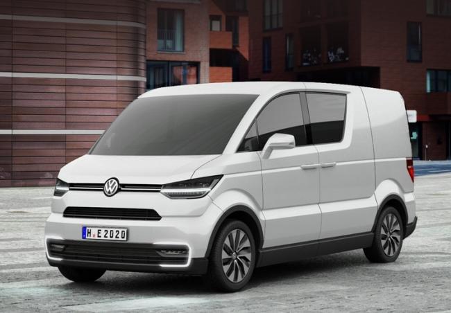 Шестое поколение Volkswagen Transporter (9 фото)