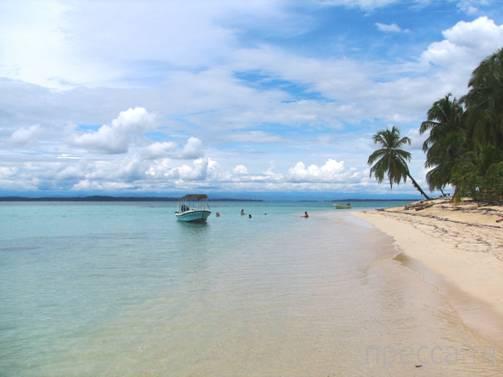 Пляж Бока-дель-Драго (Панама) - Звездный пляж (13 фото)