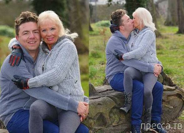 Жена исполнила волю покойного мужа (3 фото)
