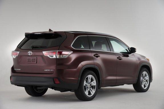 Новый Toyota Highlander (6 фото)