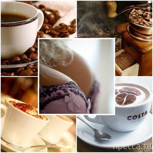 Влияние кофе на женскую грудь...