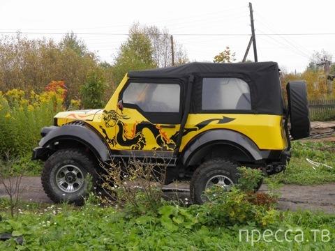 Тюнинг ГАЗ 69 (17 фото)