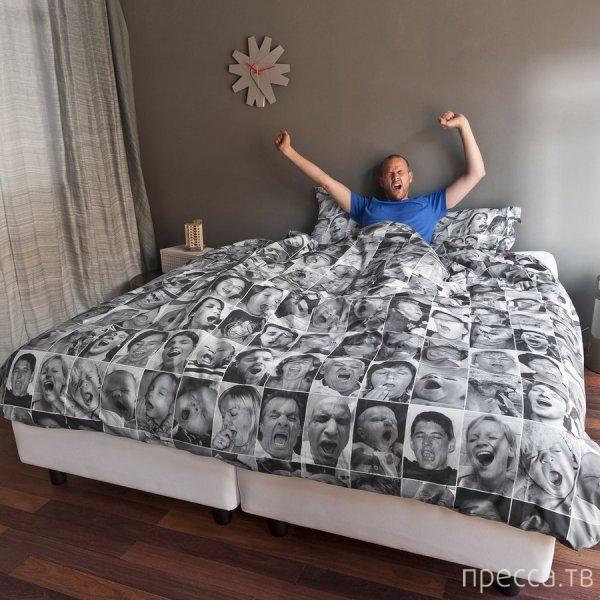 Креативное постельное белье... (3 фото)