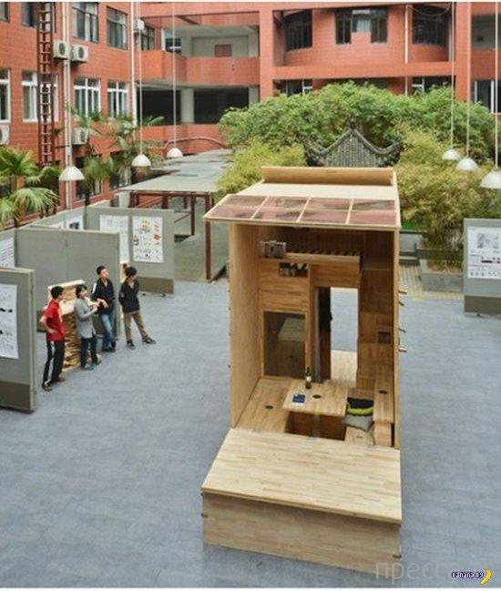 Домик для китайского студента (14 фото)