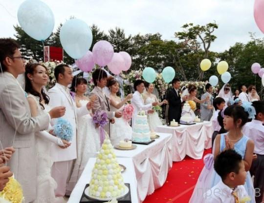 Свадебные традиции разных стран мира (18 фото)