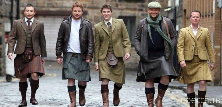 Чтобы улучшить качество спермы, мужчины должны носить юбки... (3 фото)
